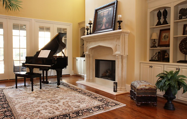 Jolin 39 s photos and stories beautiful room friday elegant for Baby grand piano in living room