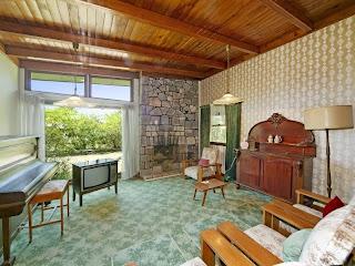 1960s room with original feltex carpet