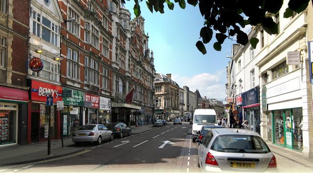Granby Street en Norfolk