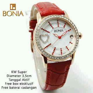jam tangan wanita murah bonia date hati