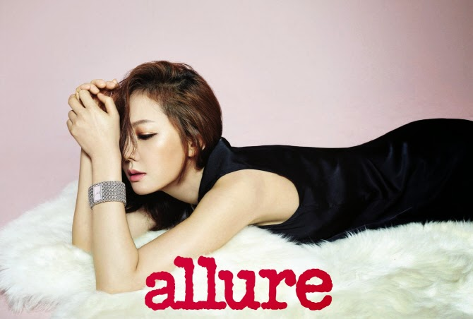 Yeom Jung Ah - Allure Magazine December Issue 2014