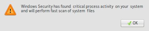 peringatan error