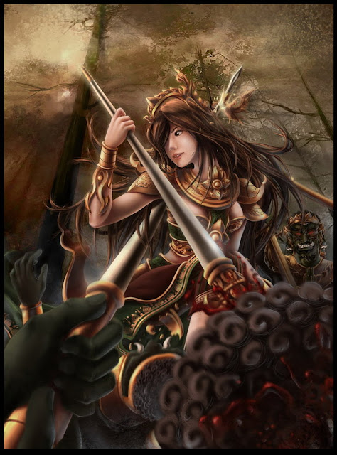 Filha de Kali-Treino para Valkiria  Guerreira+Thai_Ancient_Warrior_by_subaru01rins