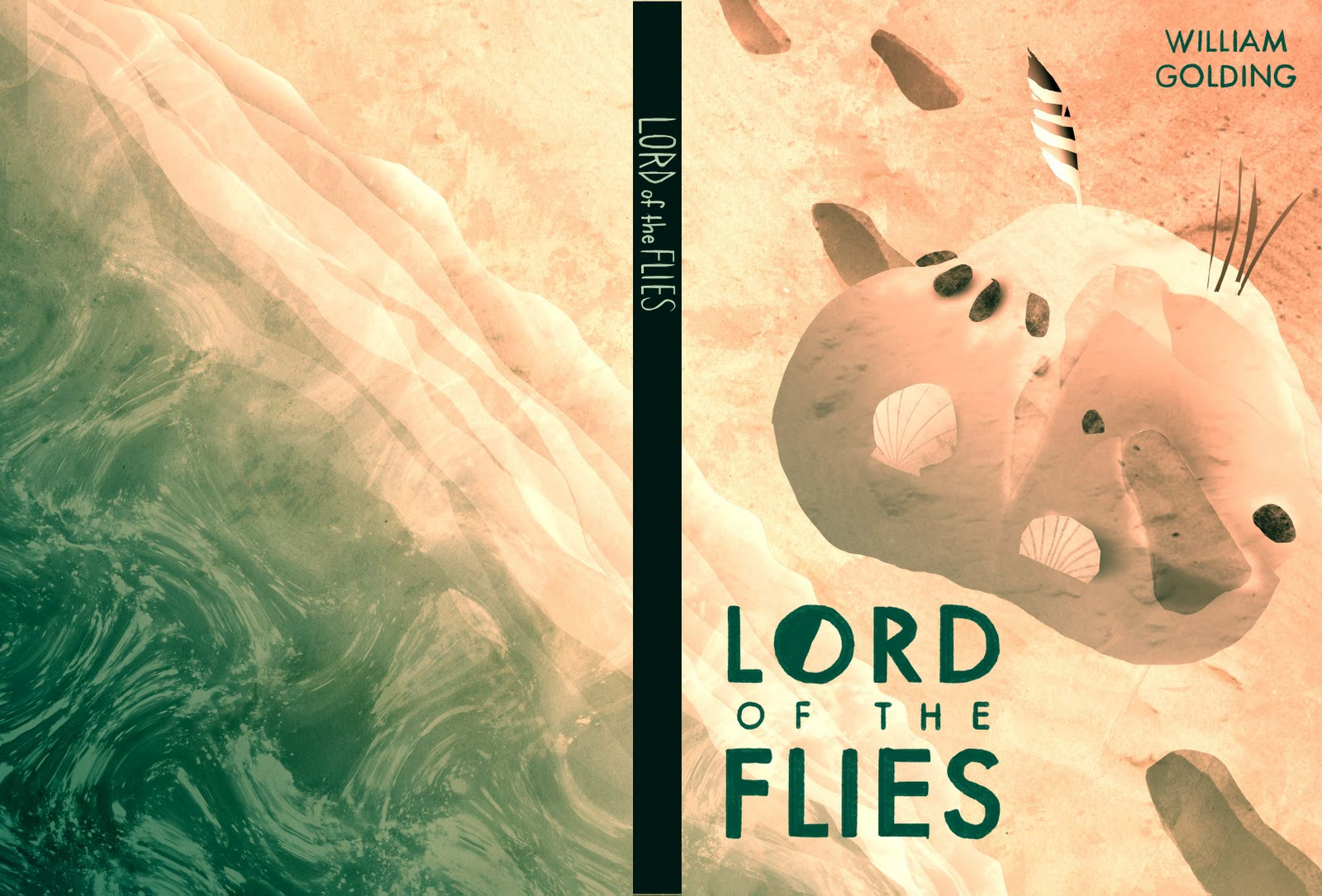 Yeb Kamin Lord Of The Flies Book Cover