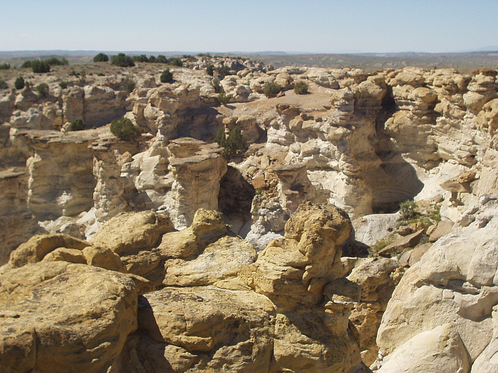 Rocks of Wyoming: Castle Gardens, Wyoming