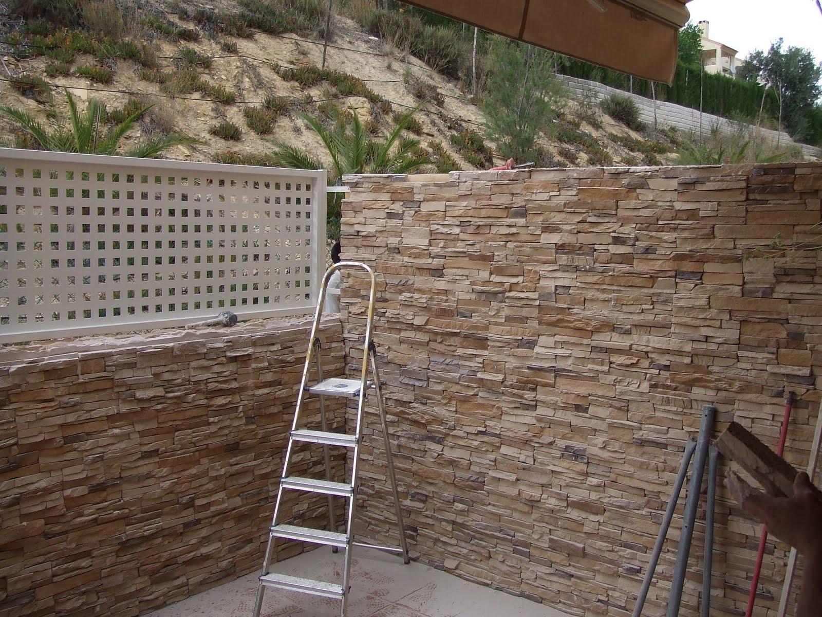 Edifica tus ideas piedra natural - Vallas de piedra ...