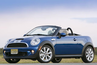 2015 New Mini  Roadster And Coupe Generation front view