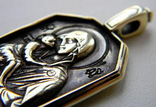 купить христианские подвески иконки богоматерь донская бронза