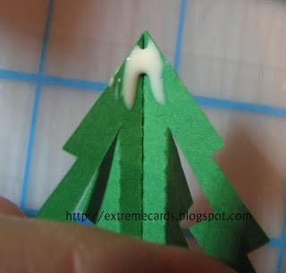 papercut Santa card