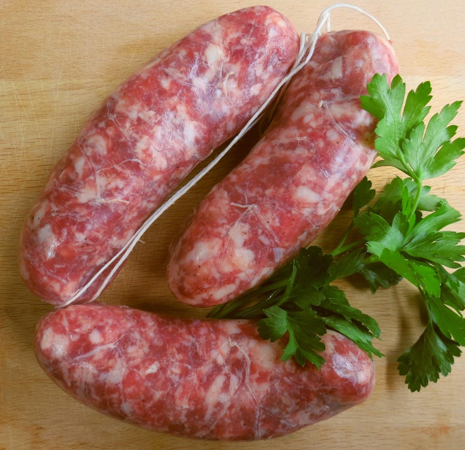 Sausage of Pignone or Salsiccia di Pignone