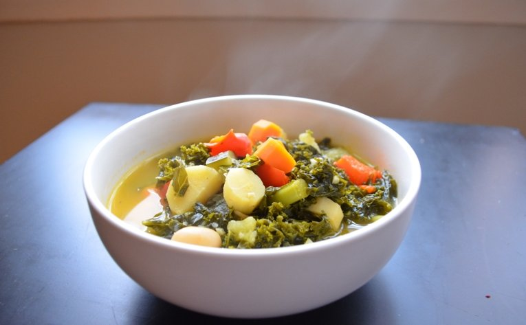 Vegetable Soup for the Sick | The Inventive Vegetarian