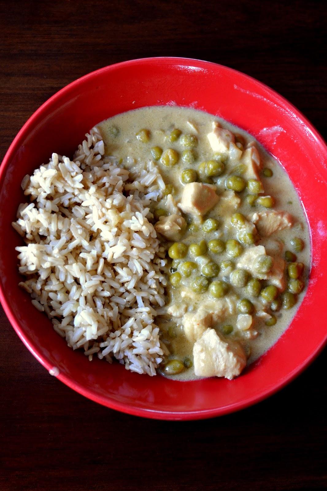 Zielone Curry Podbiło Nasze Gary Obiad Podano Nic Się
