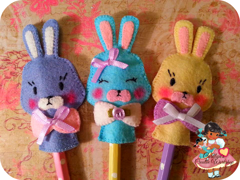 Bunny Pencil Topper