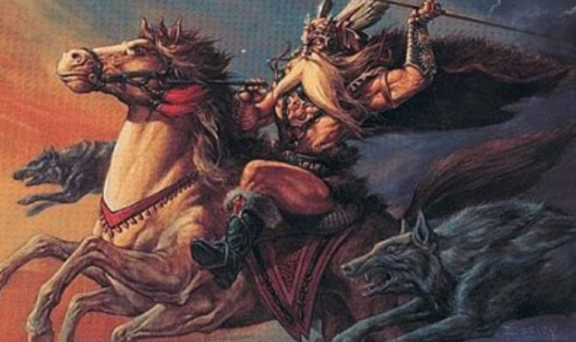White Wolf : Pagan Myths: The Norse God Odin was The Original ...