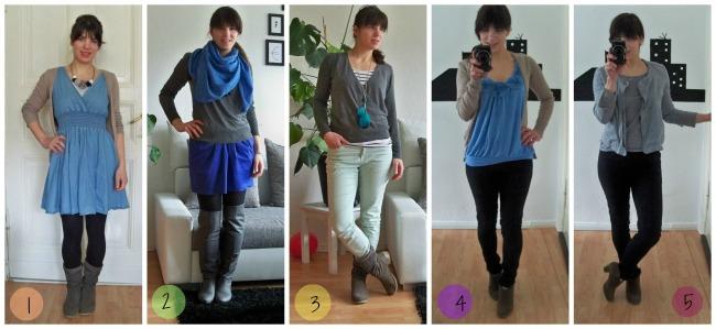 Die Fashion Challenge wie ich einen ganzen Monat überle mit nur 12 Kleidungsstücken