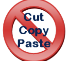Disable cut, copy and paste in textbox