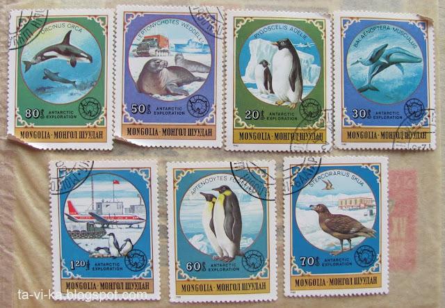 монгольские марки
