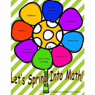 Free Spring Math Preview Set - Save $2.00