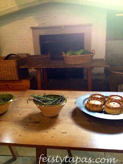 Empanadas, pies ingleses