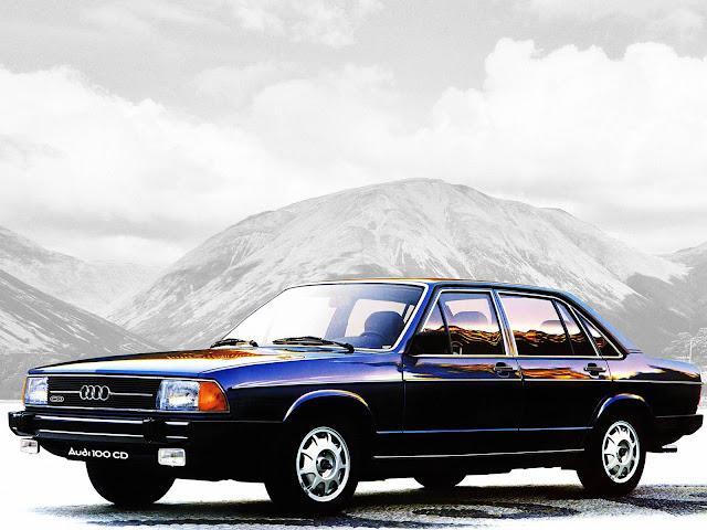 Audi 100 - segunda geração