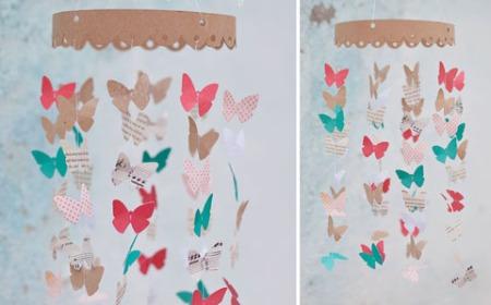 Proyectos de tecnologia movil para bebes de mariposas de - Papel para habitacion de bebe ...