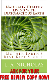 Naturally Healthy Living with Diatomaceous Earth, cover, Lisa Nicholas, Ph.D.