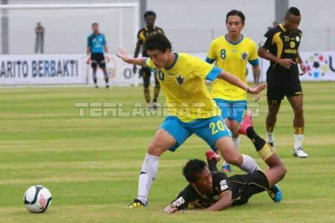 Hasil Barito Putera VS Gresik United