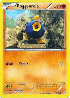 Roggenrola Phantom Forces Pokemon Card