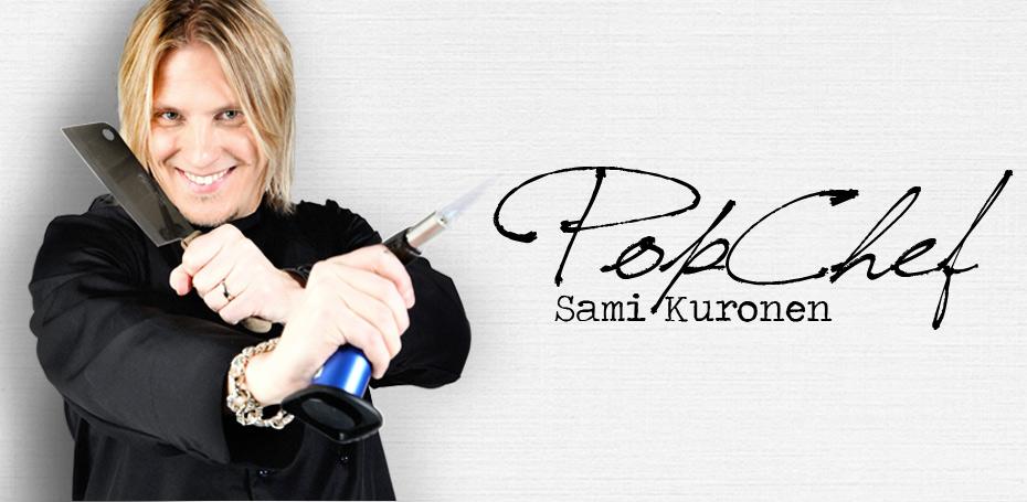 Popchef Sami Kuronen