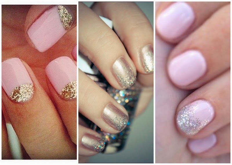 Simple Wedding Nail Art Nails Sideblogspot