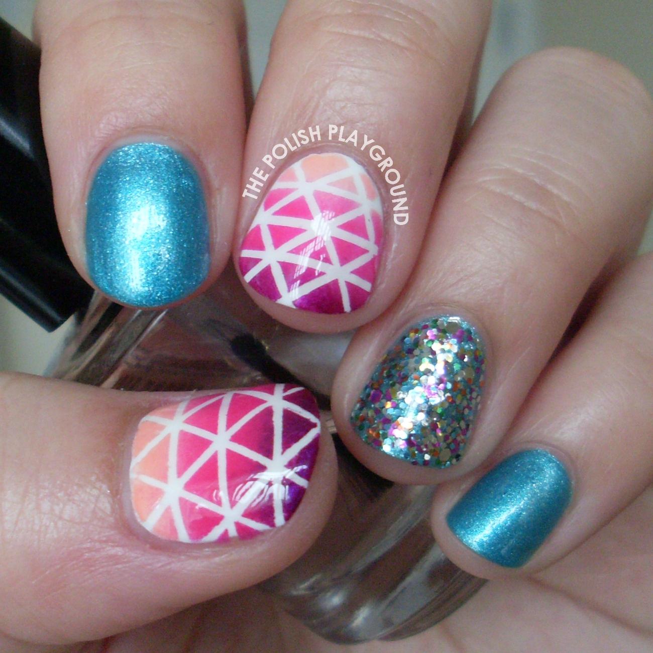 The Polish Playground: Geometric Nails