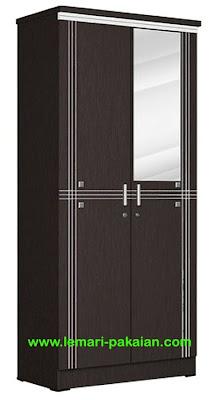 Lemari Pakaian 2 Pintu LP 8896