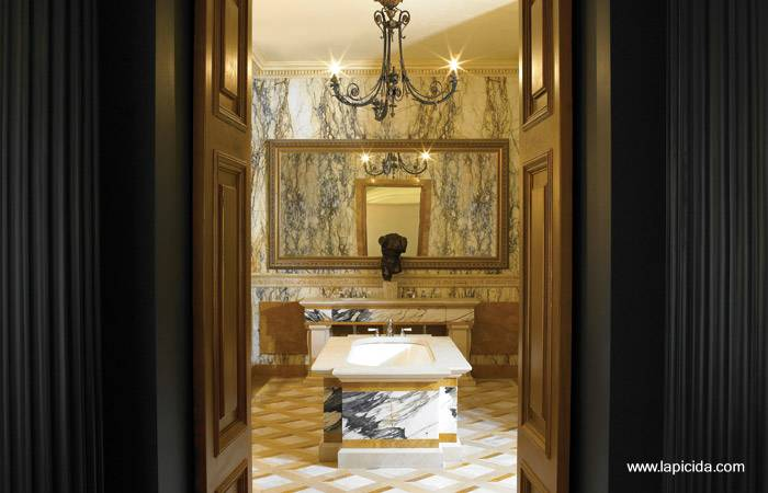 Arquitectura de casas dise os de ba os lujosos - Banos clasicos ...