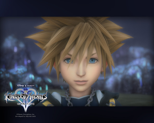 kingdom hearts 2 square enix action jrpg japanese role playing game