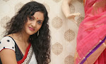 Nivitha Latest Photos in saree at Glitters launch-thumbnail