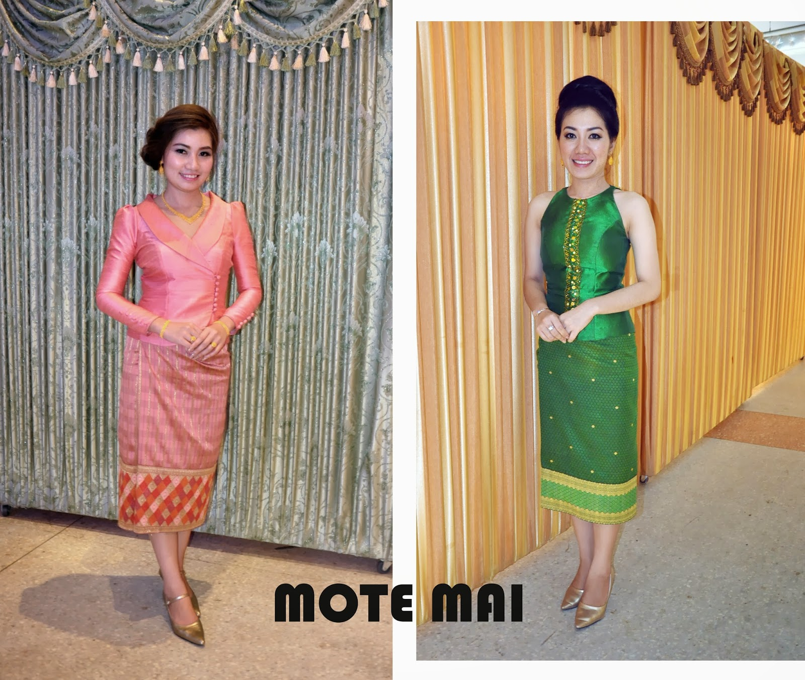 Lao Silk Fashion 2013