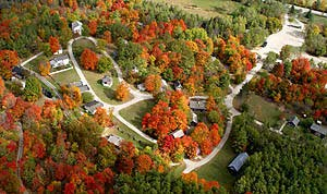 Aerial View of Westfield in October