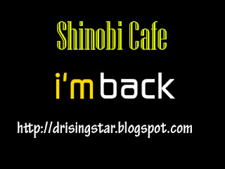 i'm back shinobi cafe