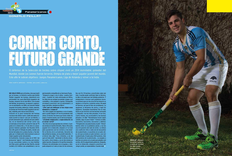 Derrota digna: Gonzalo Peillat – Corner corto, futuro grande