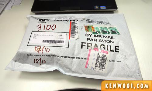 ebay parcel