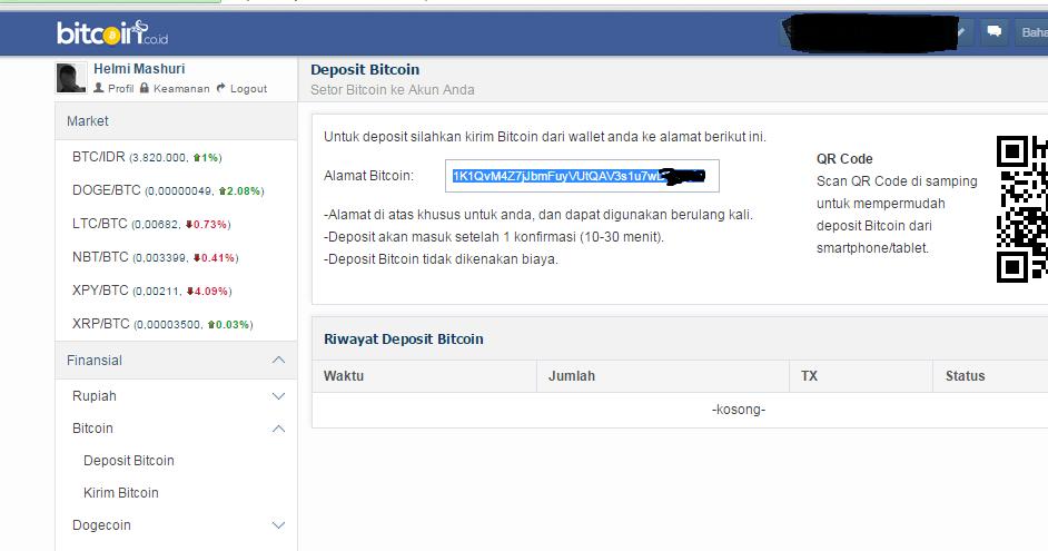 Cara Mengirim BitCoin Dari Wallet Blockchain ke Vip
