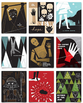 Star Wars: The Original Trilogy Screen Print Series by Ty Mattson