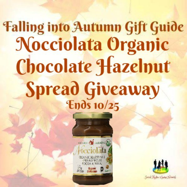 Nocciolata Organic Chocolate Hazelnut Spread