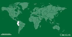 Hora exacta de todos los países del mundo.