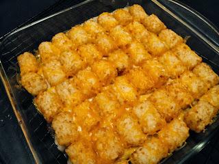 potato tot casserole