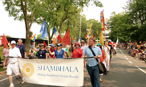 Shambhala on Pride March