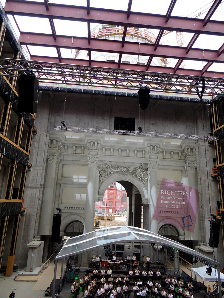 photos of the Stadtschloss under construction by Andie Gilmour