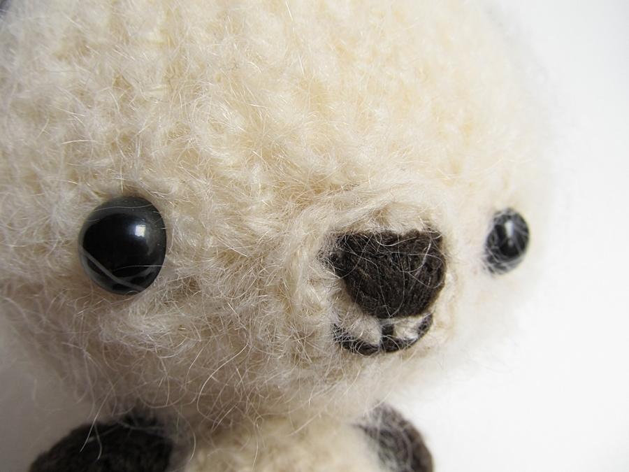Amigurumi Bear Nose : Amigurumi bunny and teddy bear little things ged