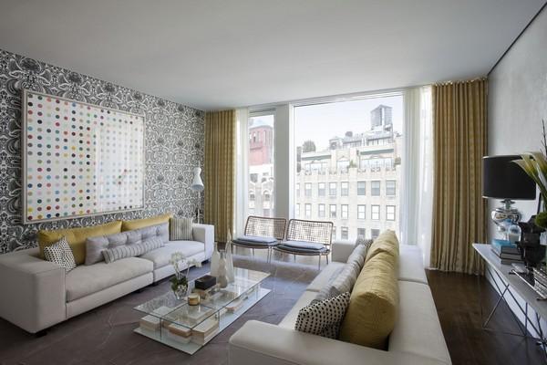 modern furniture: modern living room decorating design ideas 2011