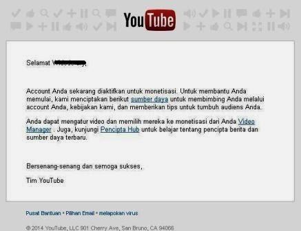Trik Daftar Akun Adsense Langsung Di Terima Via Youtube